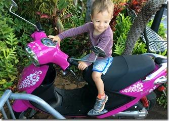 Noah's new ride